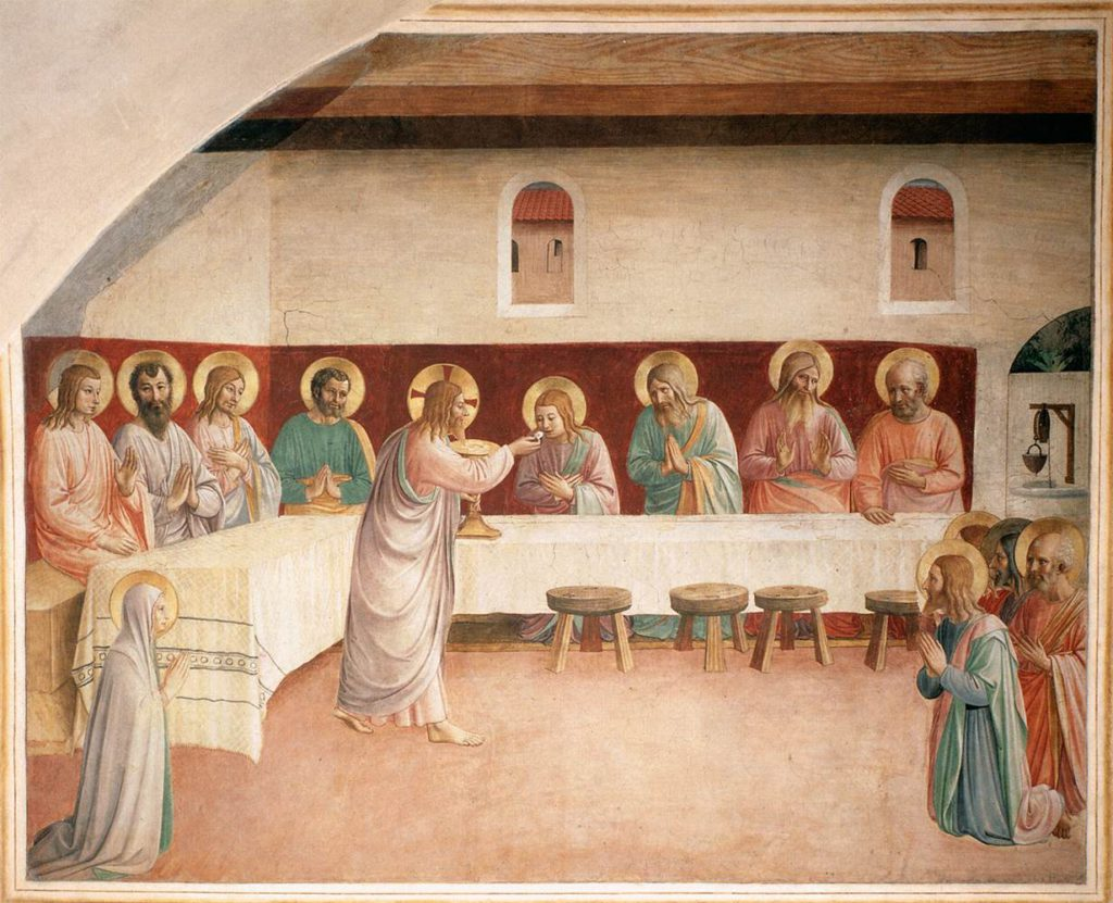 Fr Angelico Eucharist